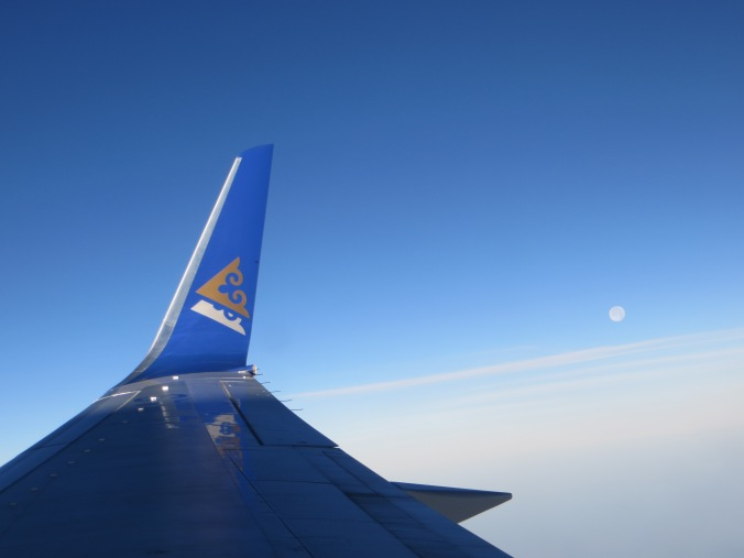 Flying from Kyrgyzstan to Thailand