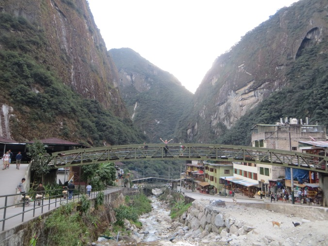 Aguas Calientes. Do you see me?