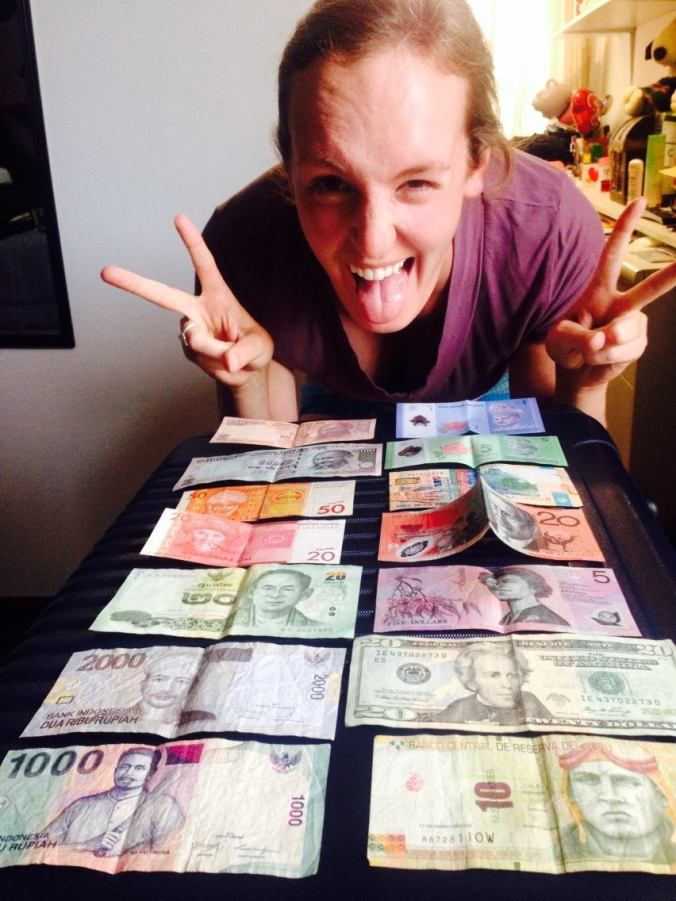 Fun with 9 different currencies