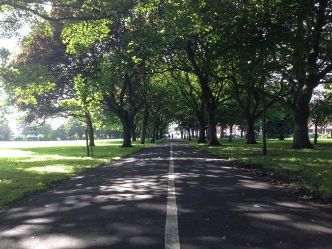 Beautiful day in Dublin