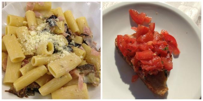 Pasta & Bruschetta