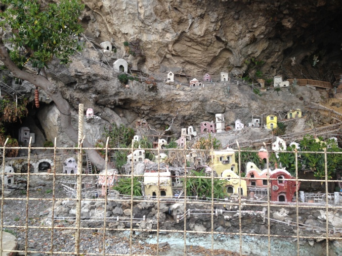 Adorable model village (and Nativity) along the Amalfi Coast