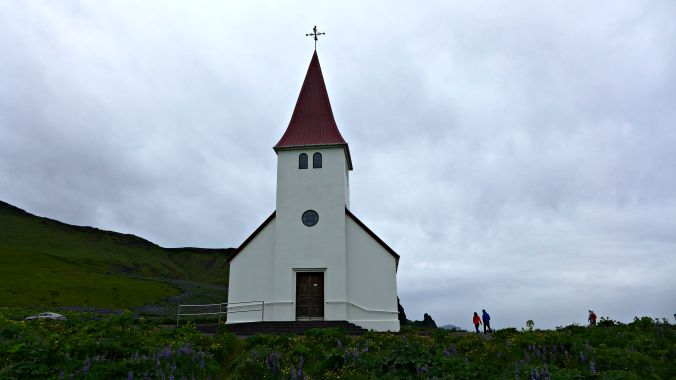 Vík i Myrdal Church