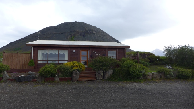 Our accommodation in Höfn