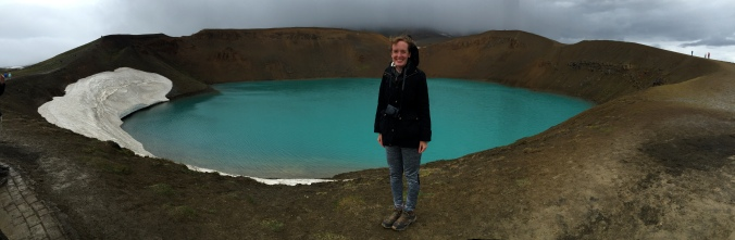 Viti Crater - it was freezing!!