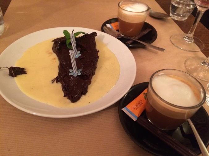 Birthday dessert @ La Part des Anges