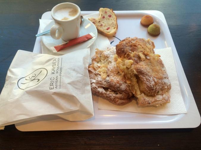 Breakfast on my last day in Paris at Eric Kayser