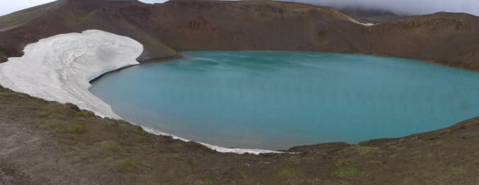 Viti Crater - photo not edited at all!